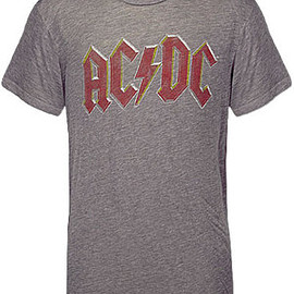 Chaser - AC/DC Back in Black Tour Heather Grey T-Shirt