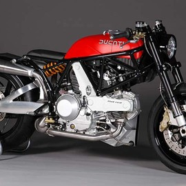 "DUCATI - 900 SS '02 ""FLAT RED"" by JvB"