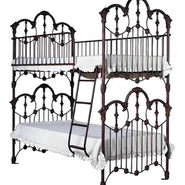 Ornate Victorian style bunk beds - Ornate Victorian style bunk beds