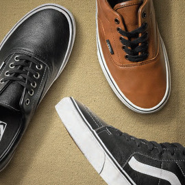 VANS - VANS Classics   Aged Leather Pack   Holiday 2012