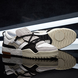 Alexander Wang, adidas originals - BBALL LOW WHITE