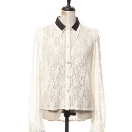 Honey mi Honey - Bicolor lace blouse