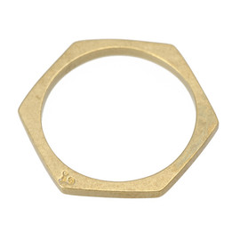 Aquvii - hexagon ring