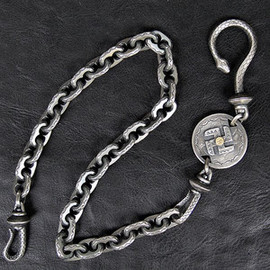 WESTRIDE - ウエストライド シルバーウォレットチェーン WESTRIDE SILVER WALLET CHAIN by LARRY SMITH [SILVER] 752988