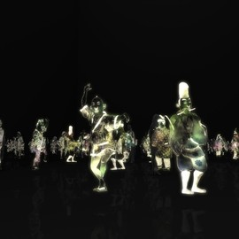 """teamLab チームラボ株式会社 - Peace can be Realized Even without Order, Singapore Biennale 2013 """"If The World Changed"""""""