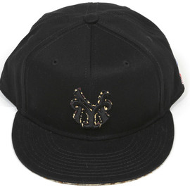 BBP - Leopard Subway Monogram Snap Back Hat