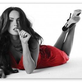 Megan Fox - Red Dress