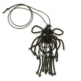 walter van beirendonck - WALTER VAN BEIRENDONCK MANI DOLL NECKLACE BLACK 2012-13AW