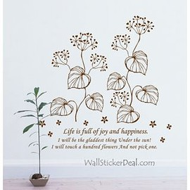 wallstickerdeal.com - Fragrance Of Flowers Wall Stickers