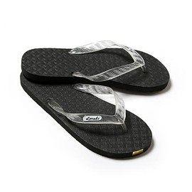 "LOCALS - BEACH SANDAL ""Black x Clear"""