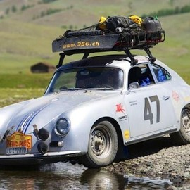They can go anywhere. porsche