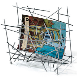 ALESSI - BLOW UP magazine holder