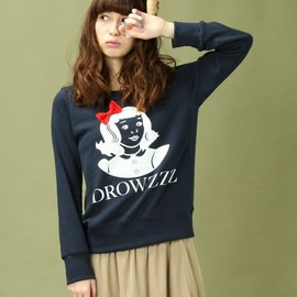 Drowse and yet... - kilke select(キルケ セレクト)の【Drowse and yet...】パロディトレーナー DROWZZZ(Lady's)(スウェット)
