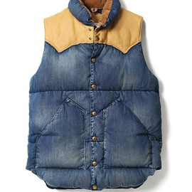CHRISTY VEST/NYLON TAN