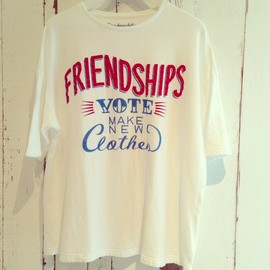 VOTO MAKE NEW CLOTHES - FRIENDSHIP Tee