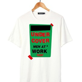 UNDERCOVERISM - MEN AT WORK T  green