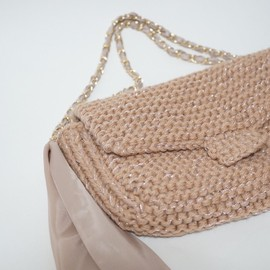 eccomin - knit,chain bag