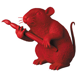 MEDICOM TOY - LOVE RAT(RED Ver.)