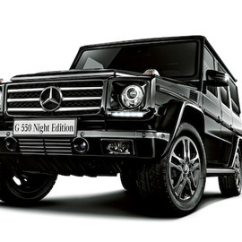 """Mercedes-Benz - G550 """"Night Edition"""" Japan Exclusive"""