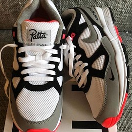 Patta, NIKE - Air Span II - White/Grey/Black/Infrared?