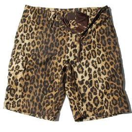 HYSTERIC GLAMOUR - LEOPARD総柄 swim pants