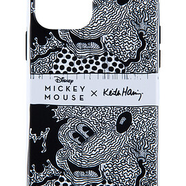 MEDICOM TOY - MICKEY MOUSE × Keith Haring iPhone CASE for 12