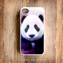 cases by csera - Unique iPhone 4 Case Panda