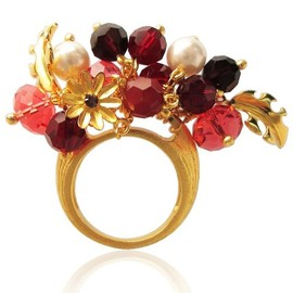 Araya jewelry - The Crystal Bouquet