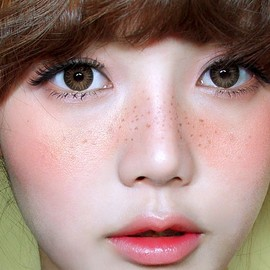 baby doll freckles