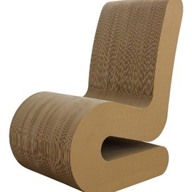PREGIA Design - Cardboard Chair