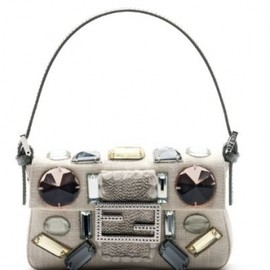 Fendi - Mini Baguette Vintage cream