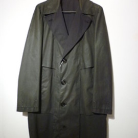 Maison Martin Margiela 10 - 2011AW Waxed Cotton Coat
