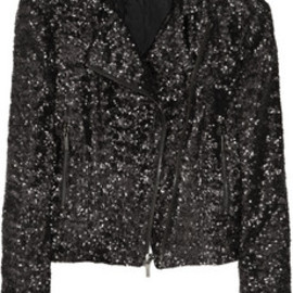 Karl - Octavia sequined biker jacket