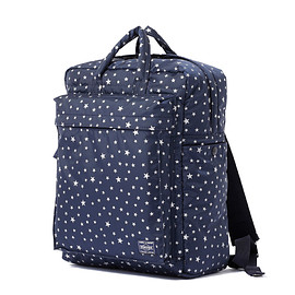 "HEAD PORTER - ""STELLAR (NEW)"" 2WAY BAG NAVY"