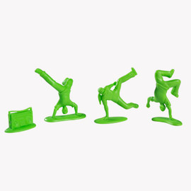 Kidrobot - ALL CITY BREAKERS MINI 20-PACK 2-INCH GREEN EDITION