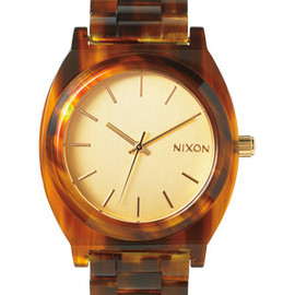 NIXON - The Time Teller Acetate - Gold / Molasses | Nixon -