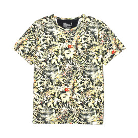 White Mountaineering - JERSEY BOTANICAL PRINT T-SHIRT