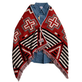 SALTWATER COWBOY(SUNNY SPORTS) - NAVAJO SHOULDER BLANKET