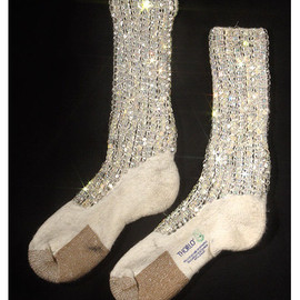 Michael Jackson - Crystal Socks