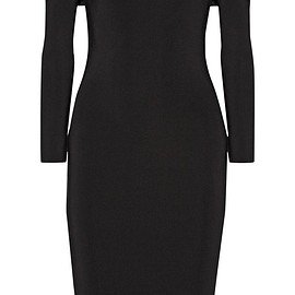 T by Alexander Wang - Off-the-shoulder stretch-ponte dress