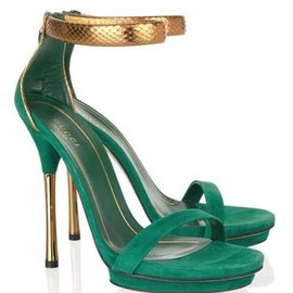 gucci - green & gold