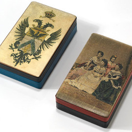 Paolo Carandini - MEMORY BOXES  parchment and calf leather