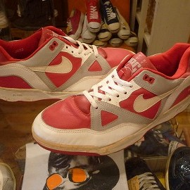 "NIKE - 「<deadstock>'88 NIKE AIR DELTA FORCE LOW red/grey/white""made in KOREA"" size:US12(30cm) 14800yen」販売中"
