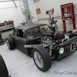 BMW - 2002 Rat Rod