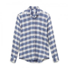 Steven Alan - REVERSE SEAM SHIRT L/S INSIDE POCKET