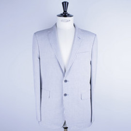 KITSUNE - COCKTAIL SUIT SEERSUCKER JACKET