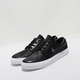 NIKE SB - Janoski Leather - Black/Anthracite/White