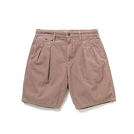 nonnative - DWELLER SHORTS RELAXED FIT COTTON CORD OVERDYED
