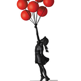 MEDICOM TOY - Sync. Flying Balloons Girl(Red Balloons w/Black Ver.)