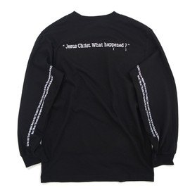 Goodblank - KIDS Long Sleeve Tee BLACK